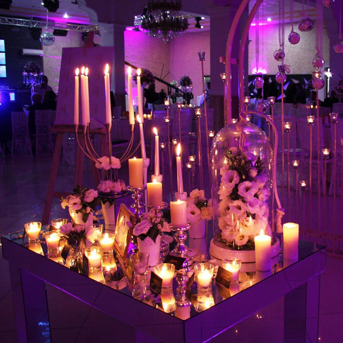 نور پردازی و شمع آرایی رامیلا