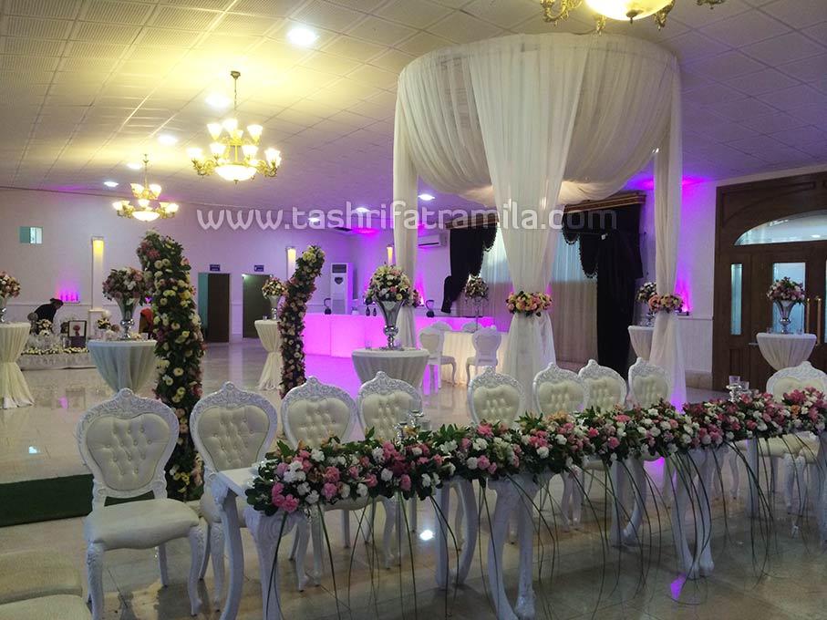 دیزاین مراسم عروسی