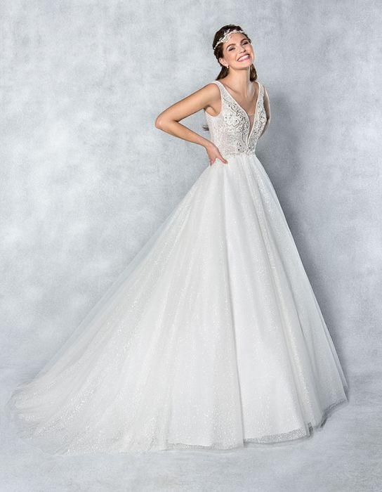 بهترین مدل های لباس عروس در سال 2019