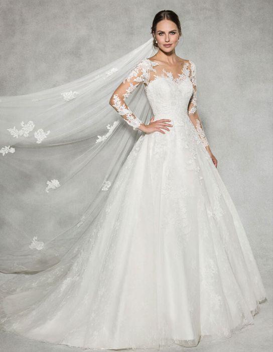 مدل های لباس عروس سال 2019