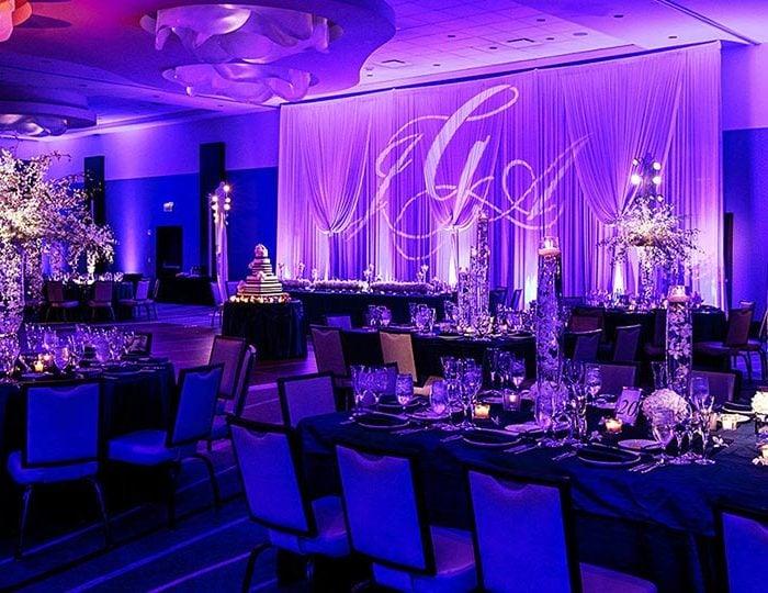 نورپردازی در مراسم عروسی