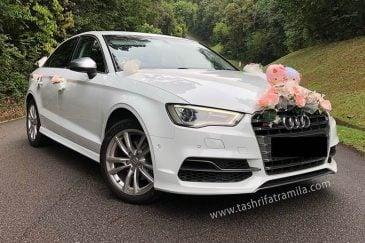 ماشین عروس و گل آرایی آن