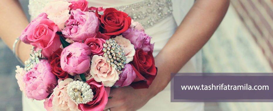 انتخاب دسته گل عروس