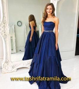 لباس عروس آبی کلاسیک