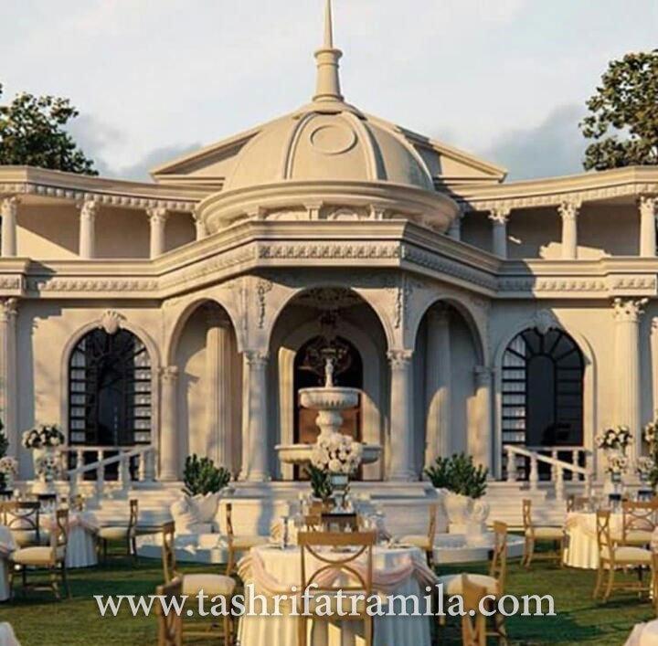 باغ تالار عروسی ملک