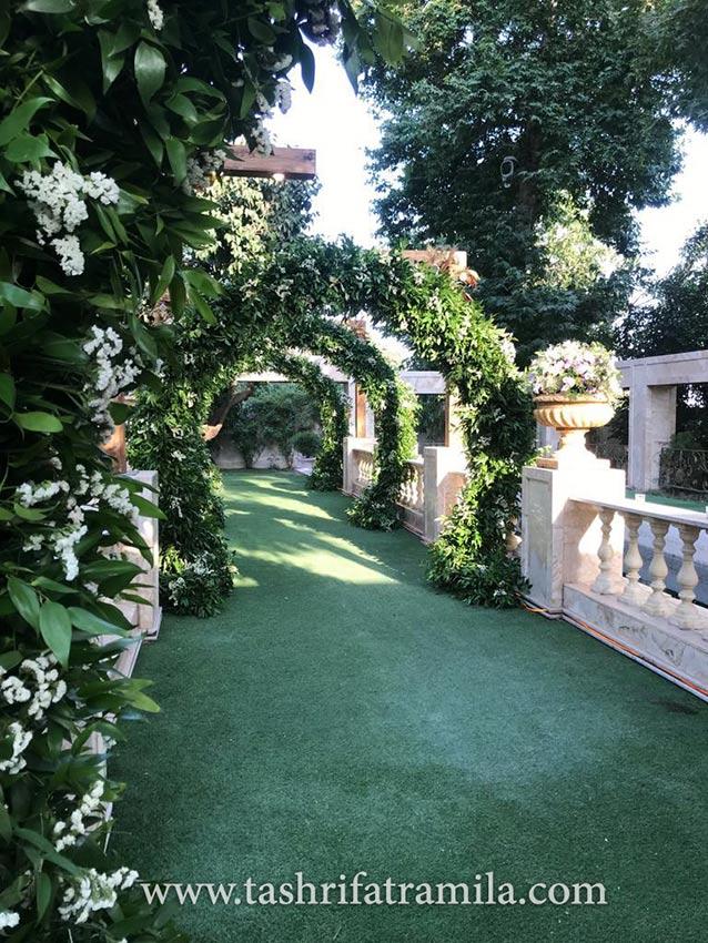 باغ عروسی و باغ تالار